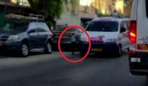 נס: רכב פגע בילד החרדי, אך הוא ניצל • צפו