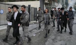 הפגנה מול לשכת הגיוס בירושלים. ארכיון