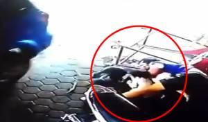 צפו בווידאו המדהים - צפו: האב זינק והציל את ילדיו ממוות בטוח