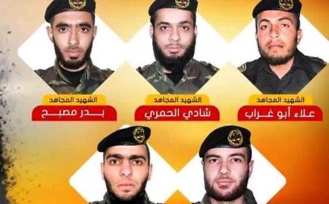 חלק ממחבלי הג'יאהד שנהרגו במנהרה - הג'יאהד: 'איומי ישראל - הם הכרזת מלחמה'