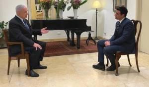 """הערב ב'כיכר': רה""""מ נתניהו בראיון לישי כהן"""