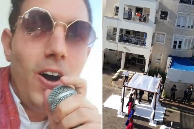 """""""חתונת המרפסות"""" עם רולי דיקמן • תיעוד"""