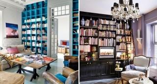 11 ספריות ביתיות שתולעי ספרים לא ירצו לעזוב