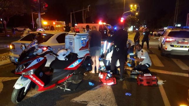 זירת החיסול בתל אביב
