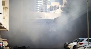 """רגעי הפאניקה. רכבי העבריינים עולים באש - ניסיון החיסול באשדוד: """"כמו טיל גראד וירוט"""""""