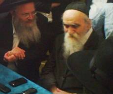 """הרב שלמה זלמן ברנד זצ""""ל בבית ראש ישיבת בריסק"""