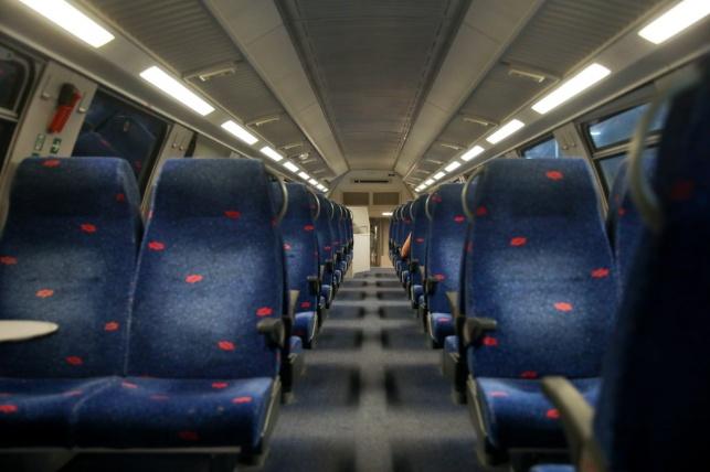 לראשונה מאז החזרה: חולה קורונה ברכבת