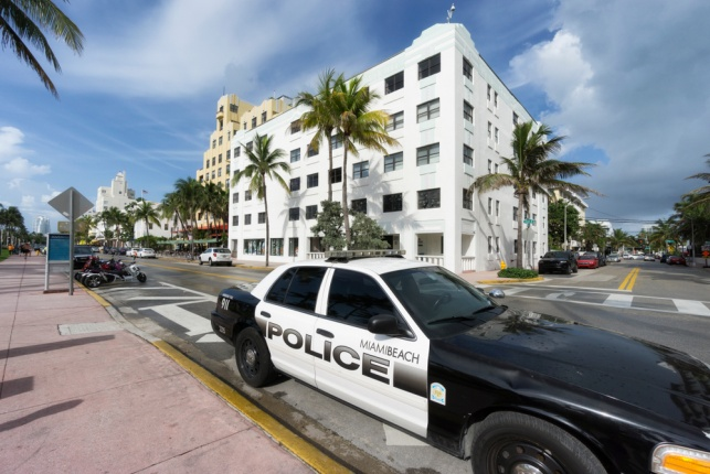 ניידת של משטרת מיאמי ביץ'