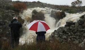 גלריה רטובה: כך נראים נחלי הגולן אחרי הגשם