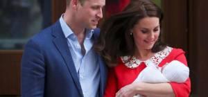 הזוג המאושר עם התינוק החדש - התינוק שמסעיר את הממלכה הבריטית