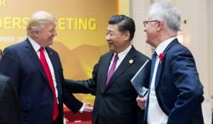 טראמפ עם נשיא סין שי ג'ינפינג