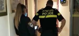 """שוטרים בת""""ת פרי התורה במודיעין עילית"""