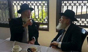 """""""זוגא דרבנן"""": רבני ירושלים נפגשו"""