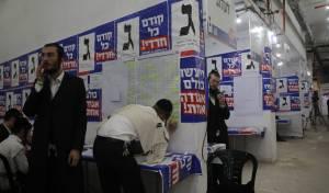 מטה אגודת ישראל שוקק מפעילות // תיעוד