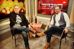 לבקוביץ עם זלמן שטוב
