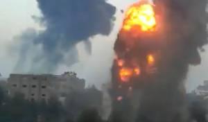 'יא אללה!': קולות התקיפה העוצמתית בעזה