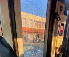 הרכבת שניזוקה