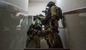 """חיילי צה""""ל בפשיטה על בתי מחבלים ביו""""ש. ארכיון - """"ריבוי פיגועי הירי לא קשור לממשל טראמפ"""""""