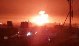 חיל האוויר תקף יעדי טרור של החמאס בעזה
