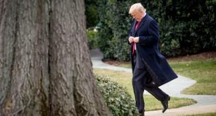 חמוש הגיע עם סכין, כדי  לדקור את טראמפ