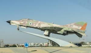 מטוס F15 בבאר שבע
