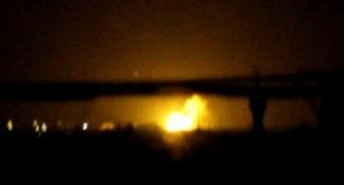 אחד מהתקיפות הקודמות שיוחסו לישראל, ארכיון - חיל האוויר תקף מחסני נשק של חיזבאללה