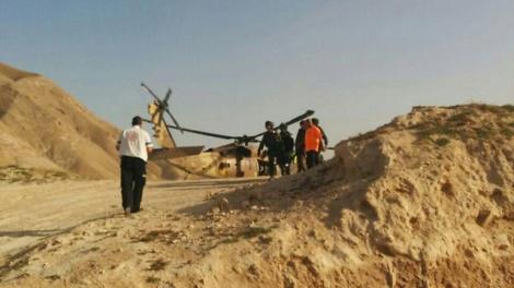 חילוץ בנחל אוג. ארכיון - חשש לחייו: אברך נעדר במדבר יהודה