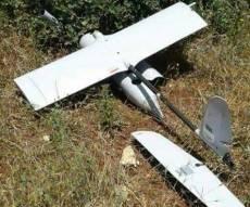 """המזל""""ט שהתרסק - מזל""""ט צבאי ישראלי התרסק בשטח לבנון"""