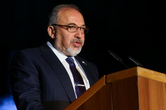 שר הביטחון אביגדור ליברמן