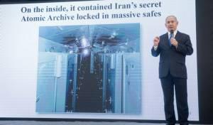 נתניהו בהצגת המסמכים - מבצע חילוץ מסמכי הגרעין מטהרן: האיראנים 'היו על הזנב'