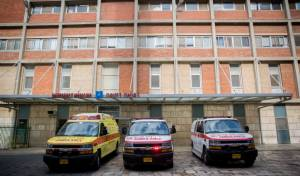 בית החולים הדסה שם נפטר החייל