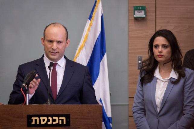 בנט ושקד: נצביע נגד ההסכם עם חמאס
