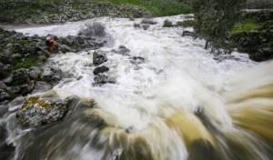 זרימה עזה בנחל אל על בצפון