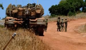"""כוחות צה""""ל בגבול לבנון. ארכיון"""