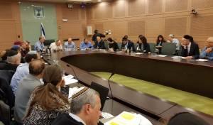 ועדת החוקה דנה ב'חוק בתי הדין הרבניים'