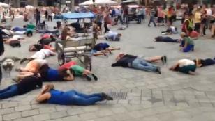 אזעקה נשמעה בכיכר המרכזית בוינה