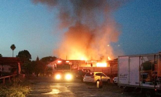 השריפה בבית נחמיה