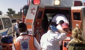 אילוסטרציה - אם ובנה הפעוט נפצעו מרכב הסעות בביתר