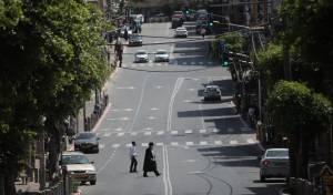 רחובות בני ברק, ביום שישי