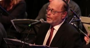 יעקב מוצן בביצוע ליצירה שכתב לזכר אחיו