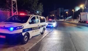 חוקרי המשטרה בזירת התאונה