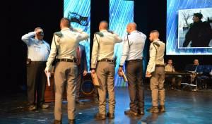 """עיטורים וצל""""שים ל-54 שוטרים ואזרחים"""
