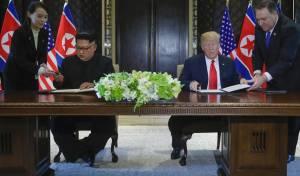 """הנשיא והרודן חתמו על מסמך הבנות: """"העולם יראה שינוי"""""""