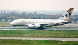 מטוס של חברת Etihad