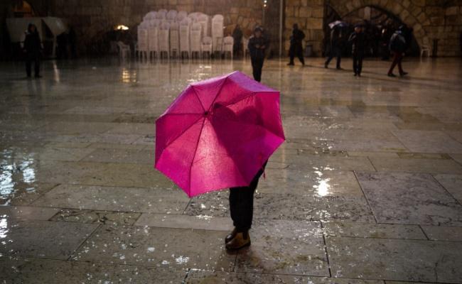 גשם, אילוסטרציה