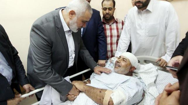 הנייה אצל אבו נעים - ניסיון החיסול: חמאס מאשים את ישראל