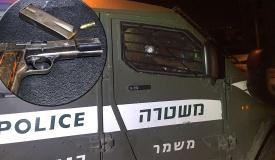 """מרדף, ירי ודריסה: מחבל ירה לעבר לוחמי מג""""ב עד שנעצר"""