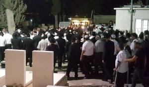 """תיעוד דומע: הלווית הגאון רבי דוד פרץ זצ""""ל"""