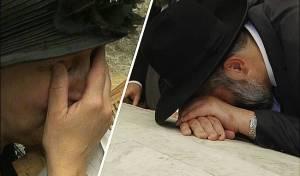 דרעי בקבר יוסף • אבטחה, דמעות ו'מי שברך'