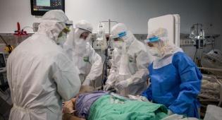 מספר החולים הקשים מהנגיף - נמוך בהרבה